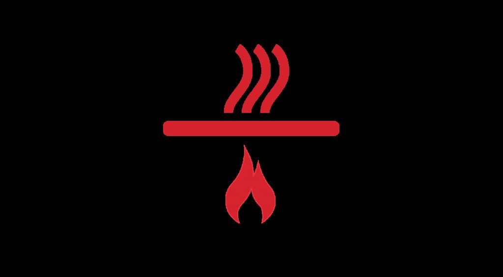 industrial burnoff ovens
