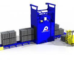 Indexing Aluminum Aging Conveyor Oven