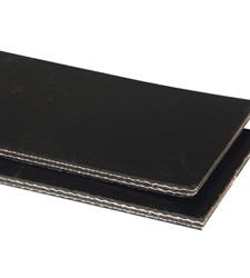 solid rubber belt