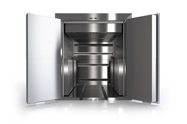Turnkey oven installation