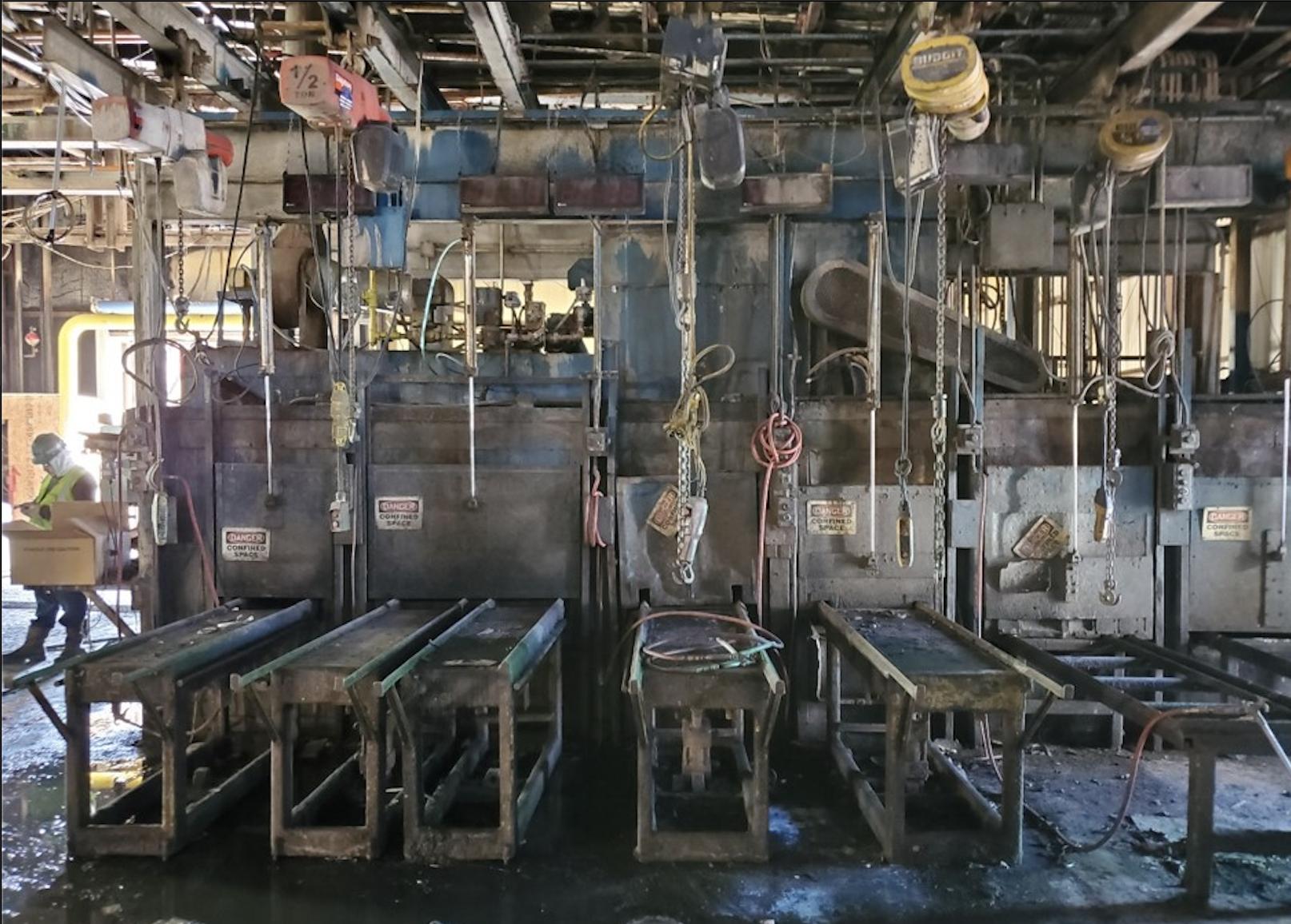 Industrial Oven Before Retrofit