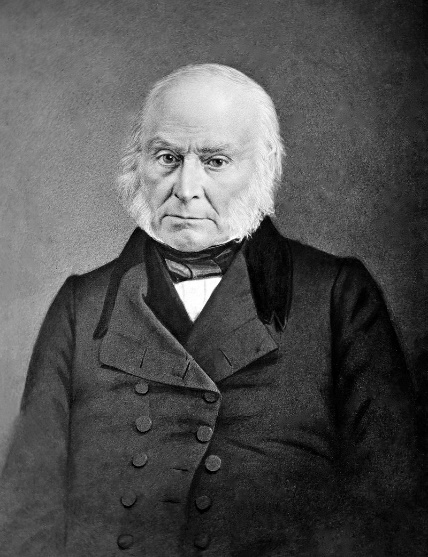 Portrait of President John Quincy Adams. Precision Quincy Ovens shares a name with Adams who was also an advocate for scientific research.